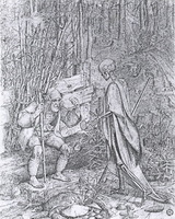 Крестьянин и Смерть (Морис фон Швинд)