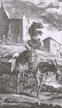 Два мула (Жан-Батист Удри)