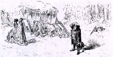 Муха и Дорожные (Г. Доре)