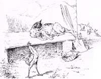 Петух, Кот и Мышонок (Вимар)