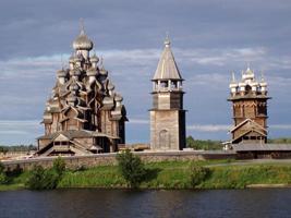 Кижи. Народная архитектура Древней Руси