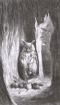 Мыши и Сова (Е. Ламберт)