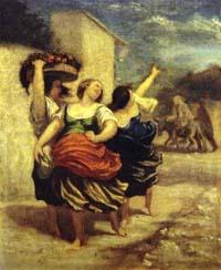 Мельник, его Сын и Осел (О. Домье)