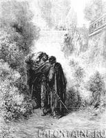 Иллюстрация к басне Лисица и Виноград