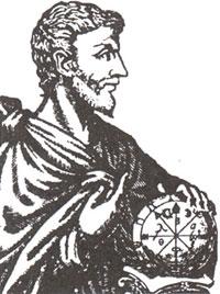 Пифагор (Рисунок XVI в.)
