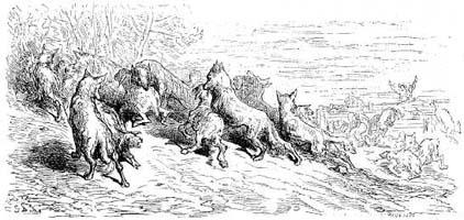 Волки и Овцы (Г.Доре)
