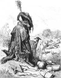 Волчья хитрость (Г. Доре)