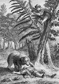 Медведь и два Охотника (Удри)