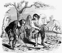Земледелец и его Сыновья (Гранвиль)