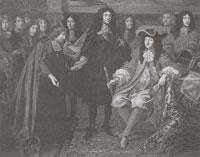Король Франции Людовик XIV (Ш. Лебрен. XVII в.)
