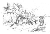 Лисица, Мухи и Еж (де Вимар)
