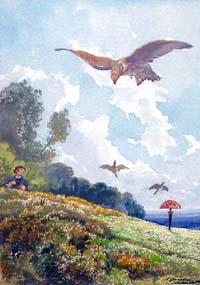 Птицелов, Ястреб и Жаворонок (Делире)