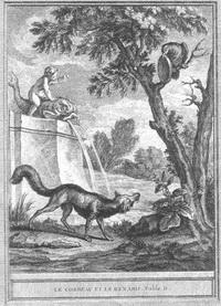 Ворона и Лисица (иллюстрация)