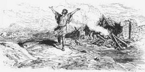 Предостережение Богов Симониду (Г. Доре)