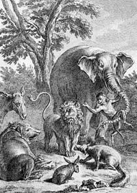 Лев в походе (Удри)