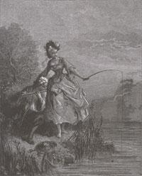Рыбы и Пастух с флейтой (Г. Доре)
