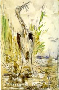 Лягушки, просящие Царя (Г. Моро)