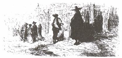 Безумец и Мудрец (Г. Доре)