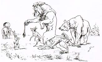 Лев в походе (Вимар)