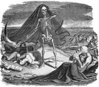 Смерть и Умирающий (Гранвиль)