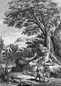 Тирсис и Амаранта (Удри)