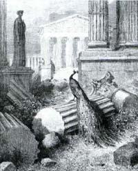 Павлин, жалующийся Юноне (Г. Доре)