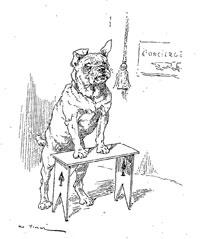 Волк и тощая Собака (де Вимар)