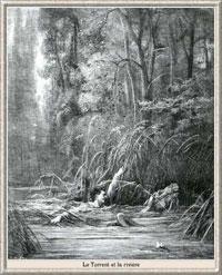 Водопад и Река (Г. Доре)