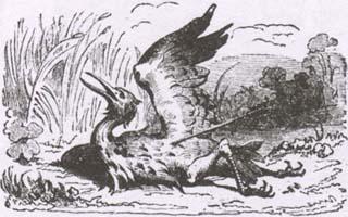 Птица, раненая стрелой (К. Жирарде)