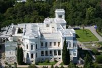 Ливадийский дворец (вид сверху)