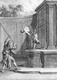 Язычник и деревянный Идол (Удри)