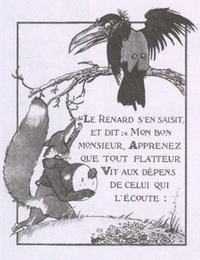 Ворона и Лисица (Ф. Лорио)