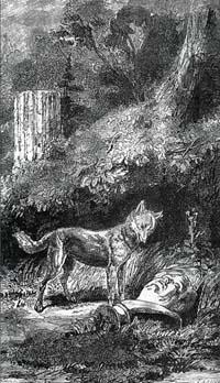 Лисица и Бюст (Е. Ламберт)