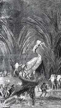 Лягушки, просящие Царя (Е. Ламберт)