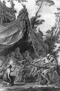 Старик и его Сыновья (Н. Халле)