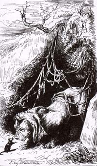 Лев и Мышь (Е. Ламберт)