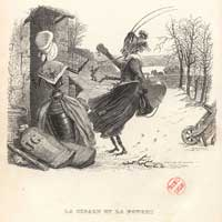 Цикада и Муравьиха