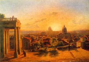 Закат в Риме (М.Н. Воробьев)