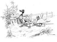 Летучая Мышь, Куст и Утка (де Вимар)