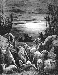 Волки и Овцы (Г. Доре)