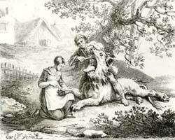 Влюбленный Лев (К. Верне)
