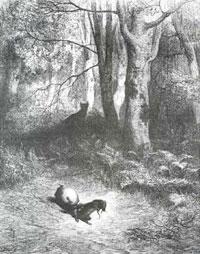Две Крысы, Яйцо и Лиса (Г. Доре)