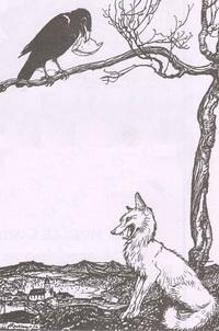 Ворона и Лисица (А. Рэкэм)