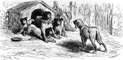 Две Собаки (Г. Доре)