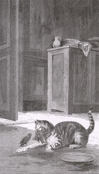 Кот и Воробей (Е. Ламберт)