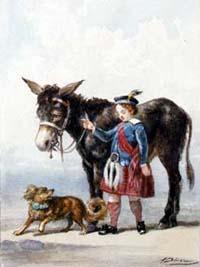 Осел и Собака (А. Делире)