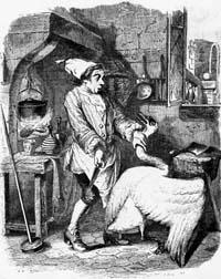 Лебедь и Повар (Гранвиль)