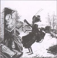 Стрекоза и Муравей (Гранвиль)