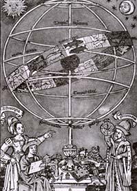 Предсказание. Средневековый рисунок