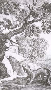 Петух и Лиса (Ж. Удри)